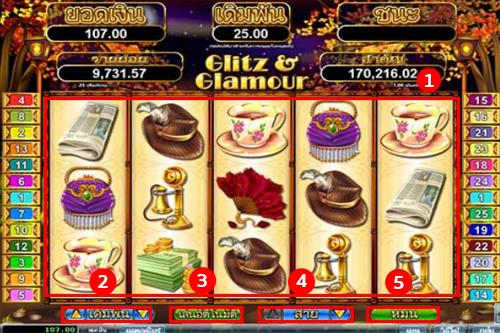 Glitz & Glamour Slot Goldclub Slot game