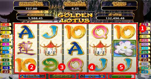 Golden Lotus Goldclubslot game